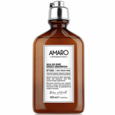 Shampoing homme usage quotidien Amaro corps et cheveux 250 ml